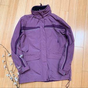 L.L. BEAN winter ski jacket coat, ladies S.